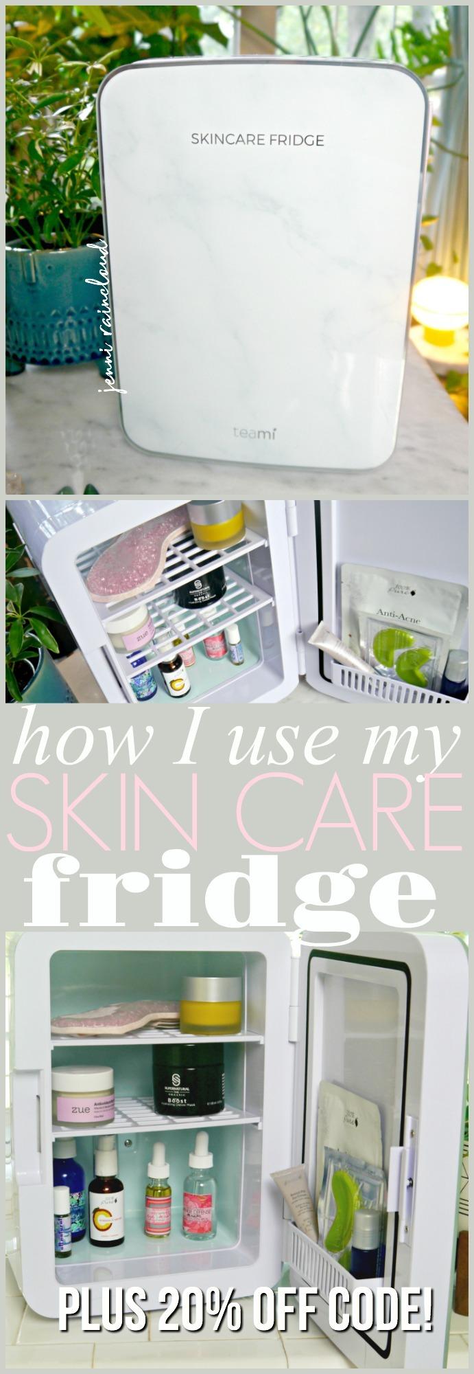 Skin Care Fridge Teami Blends