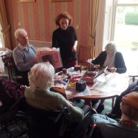 Art & reminiscence work with dementia patients
