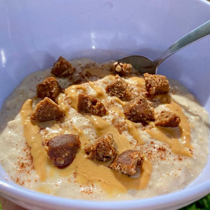 Pumpkin Spice Protein Oatmeal