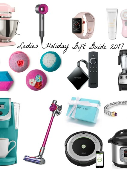 Ladies Holiday Gift Guide 2017