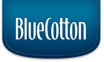 blue cotton