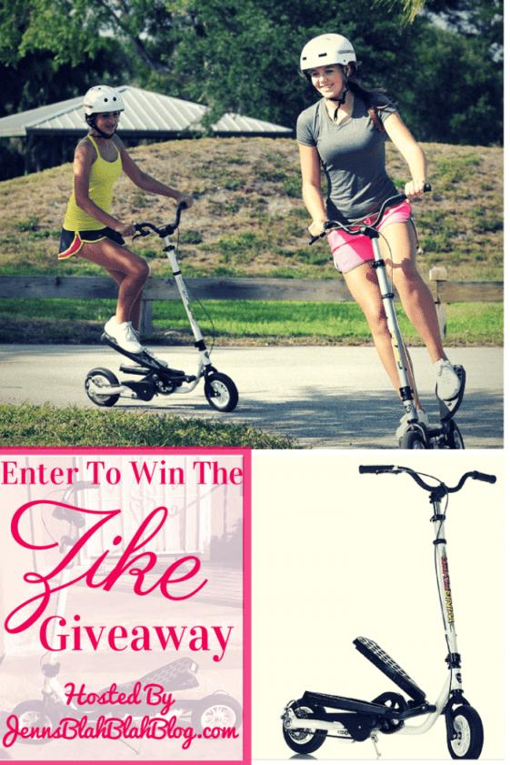 Enter to Win The Zike Giveaway http://jennsblahblahblog.com