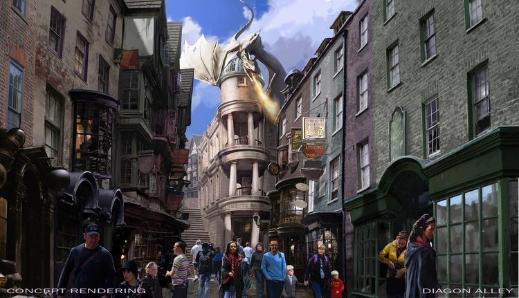 Universal Orlando Harry Potter Diagon Alley at Universal Orlando