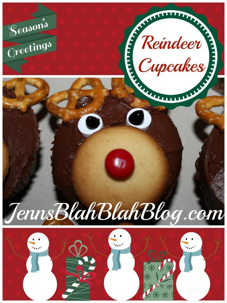 how to make reindeer cupcakes