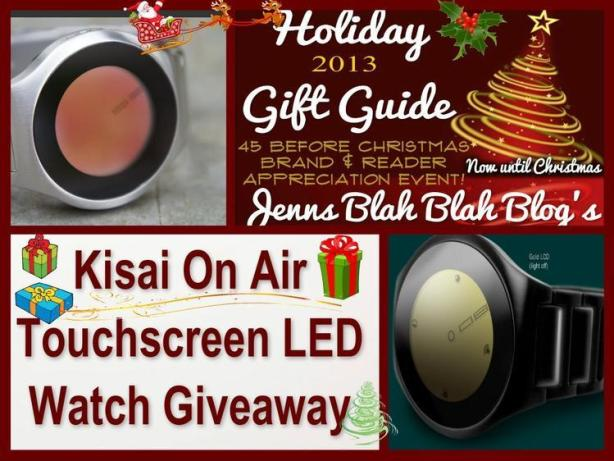 Kisai On Air Touchscreen LED Watch Giveaway