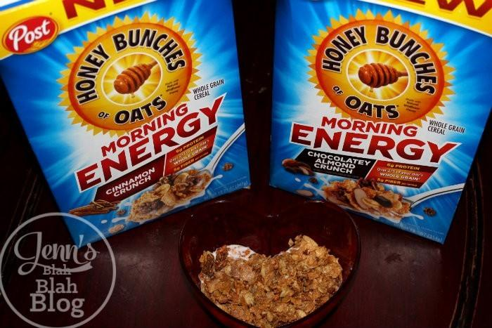 New Honey Bunches of Oats Cereal