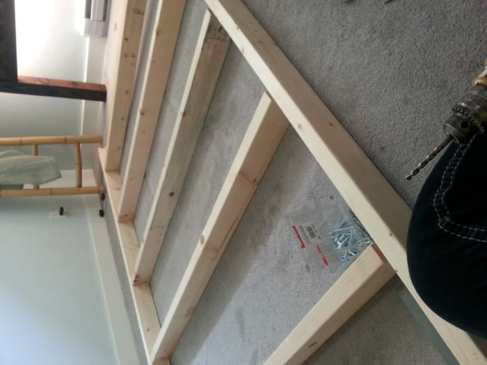 diy-queen-herringbone-bed frame