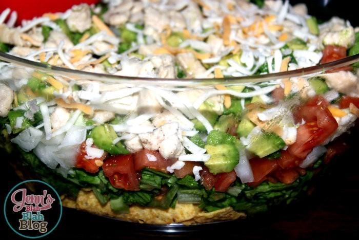 Easy Dinner Ideas - Chicken Taco Salad