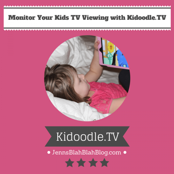 monitor your kids tv time with kidoodle.tv