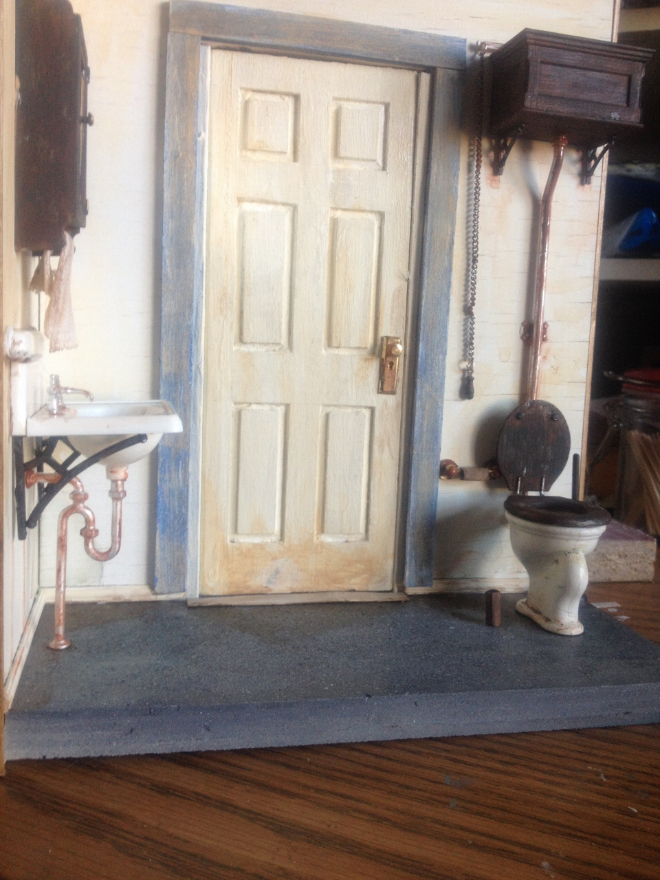 Grunge Jenns Mini Worlds A Dollhouse Miniaturists Blog