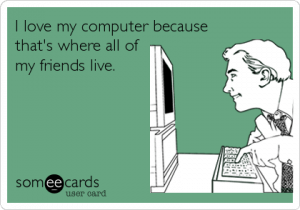 friends live in computer