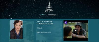 Geoff Van Wyck actor navigation