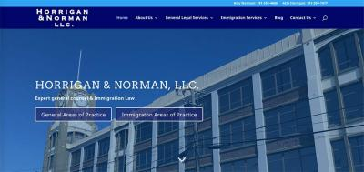 Horrigan Norman home page