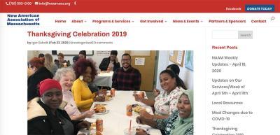 NAC thanksgiving 2019