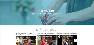 VSN Recipes page