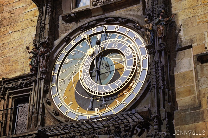 prague place vieille-ville horloge astronomique