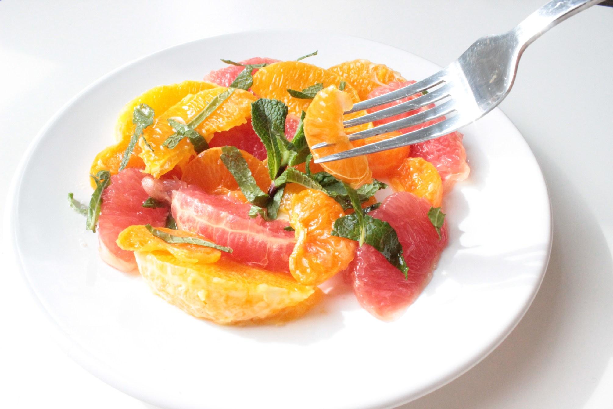 citrus salade