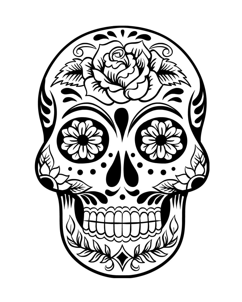 dead day of the dead coloring page day of the dead free kids games