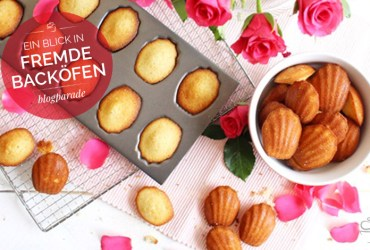 Madeleines à la rose {Blogparade}