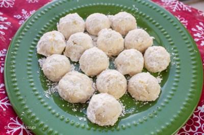 Lemon Snowball Cookies 1