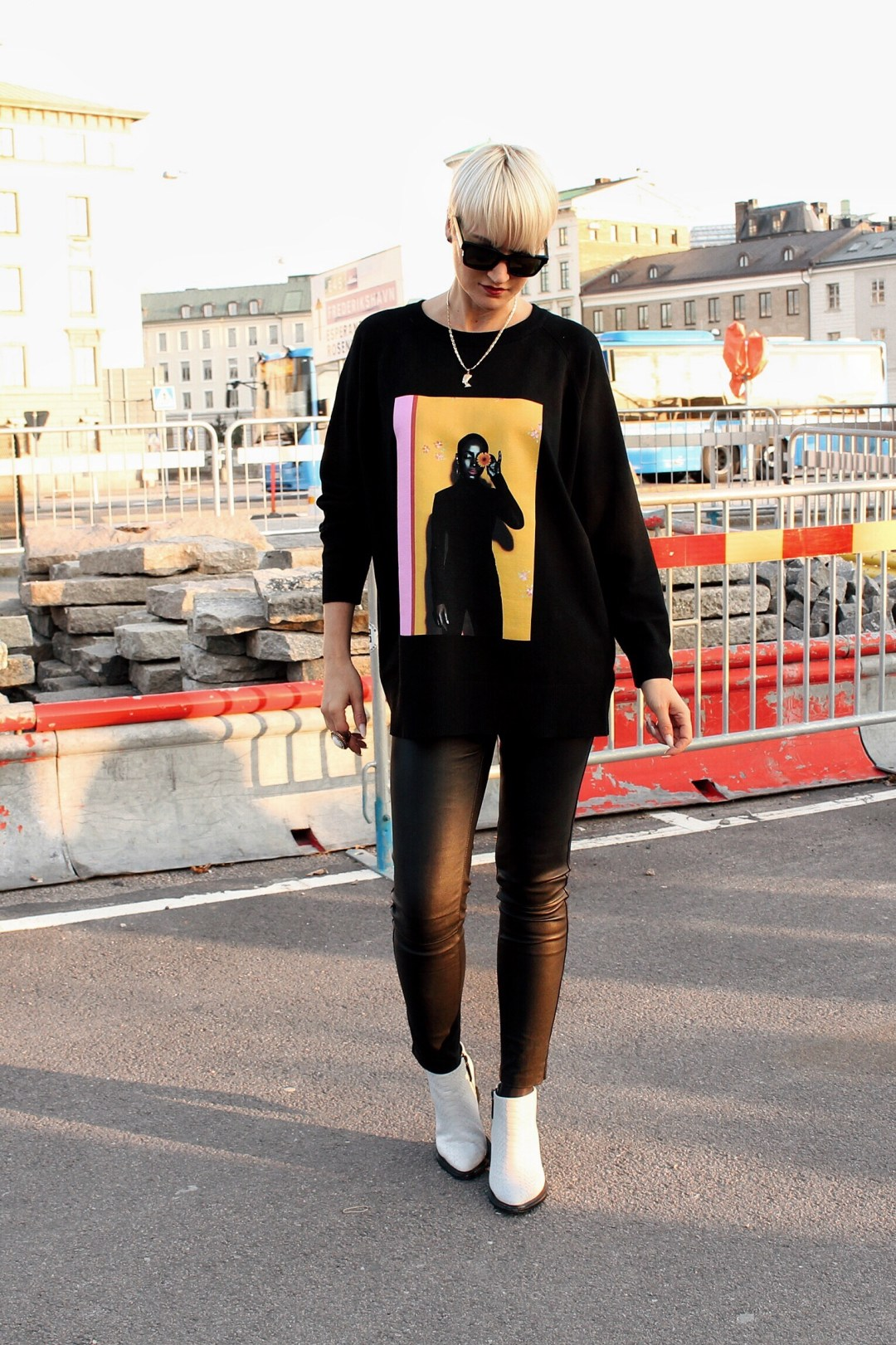 sade oversized sweater