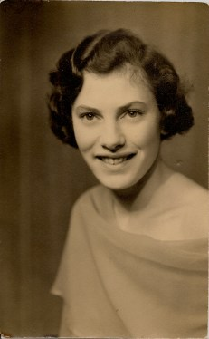 Granny as a young woman