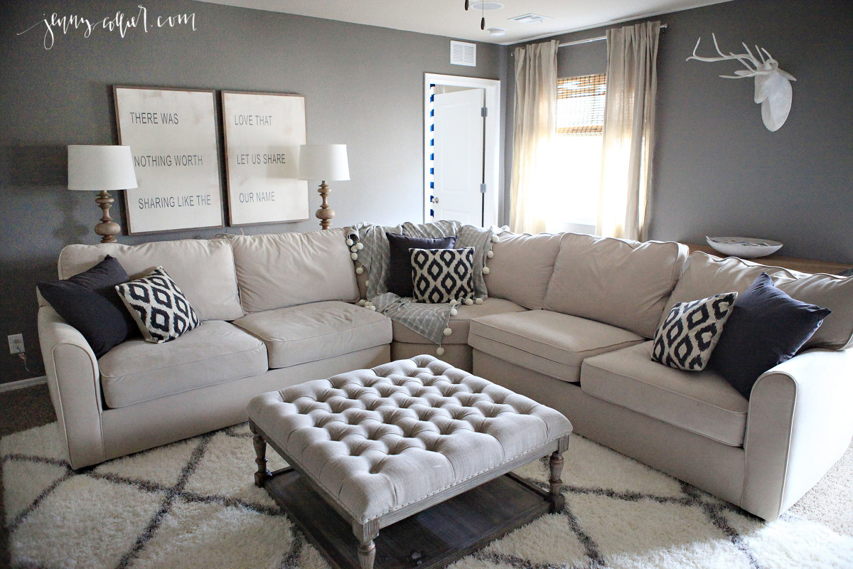 Media Room Makeover Jenny Collier Blog