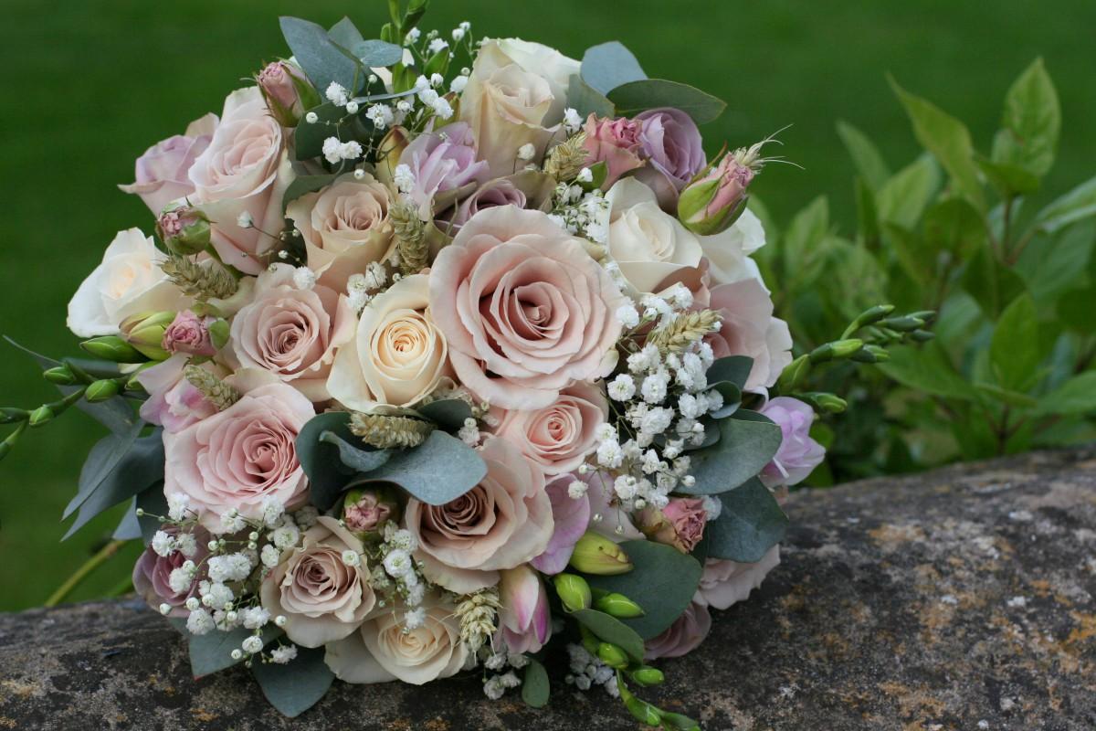 Vintage Wedding Flowers By Jenny Fleur