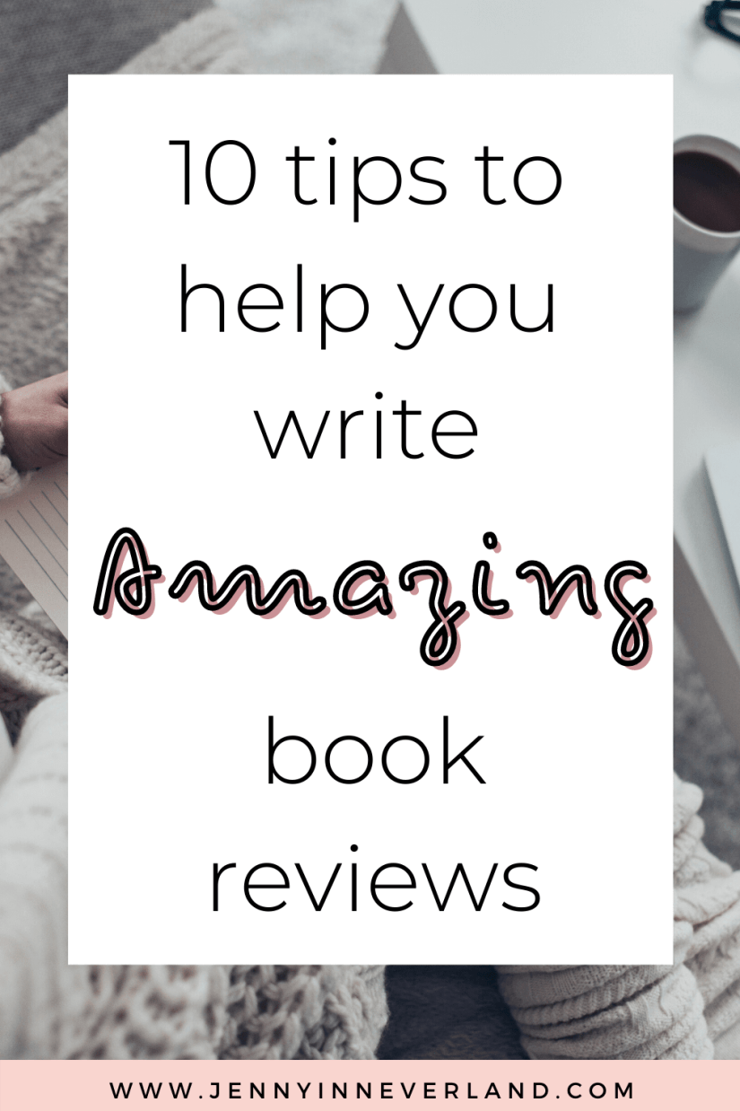 10 Tips For Writing Book Reviews