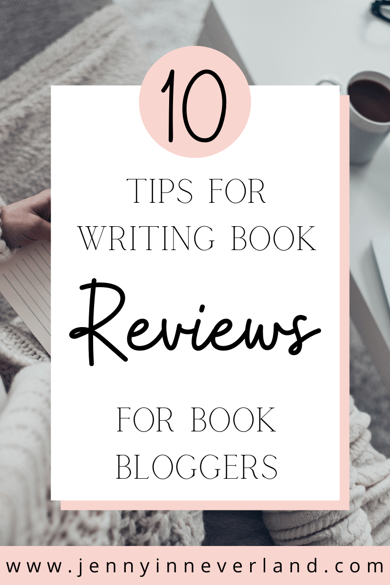 Tips For Writing Book Reviews