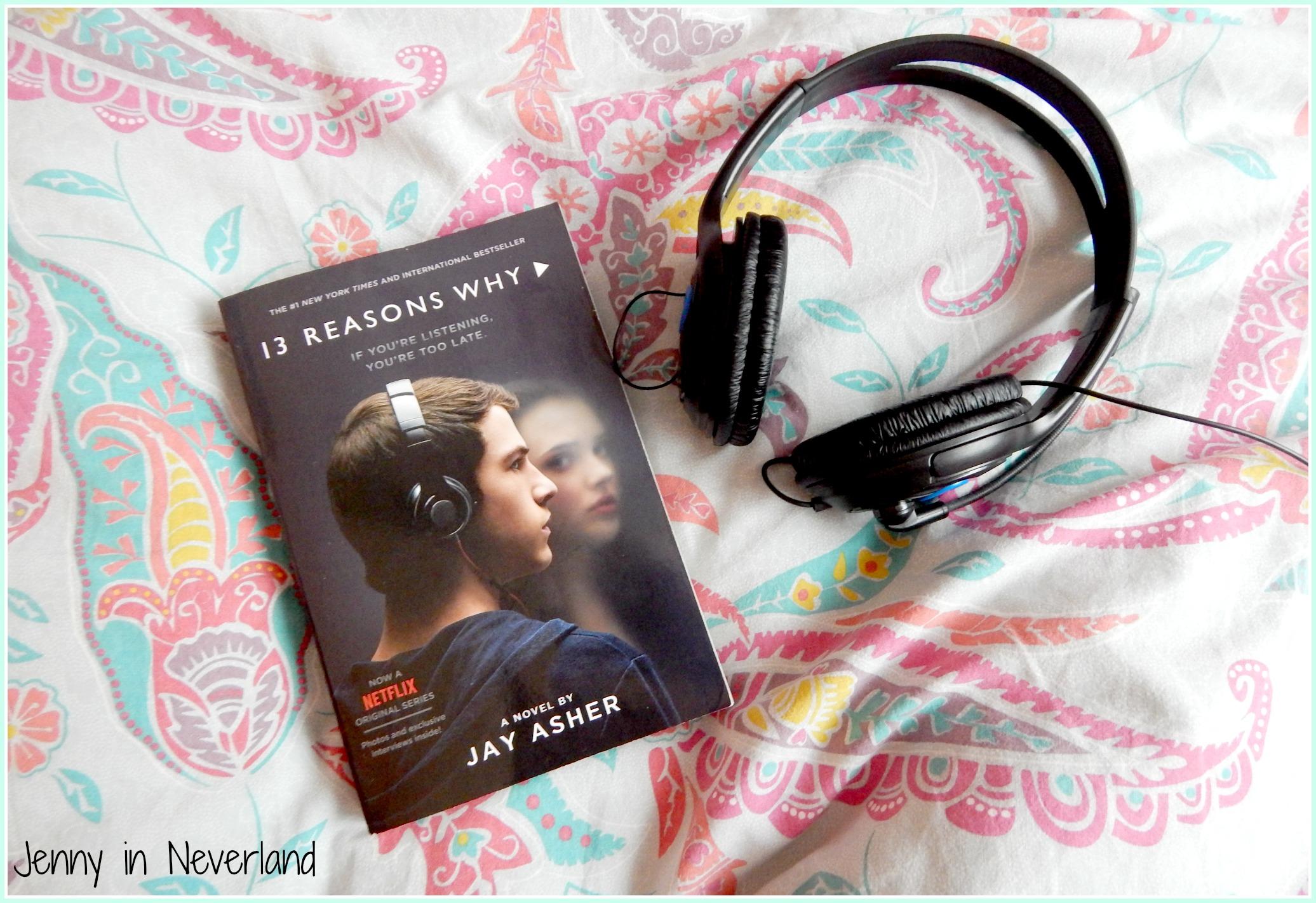 13 Reasons Why Book Show Comparison Jenny In Neverland