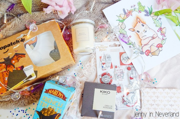 Autumn, Candle, Chocolate, KIKO, Christopher Robin