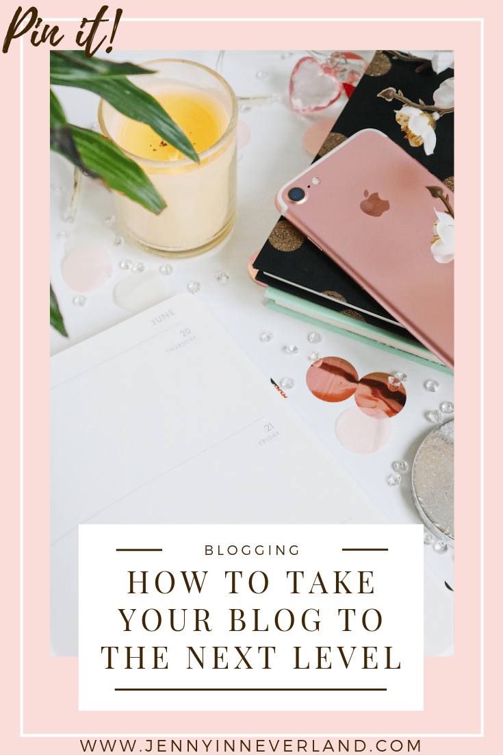 How To Take Your Blog To the Next Level