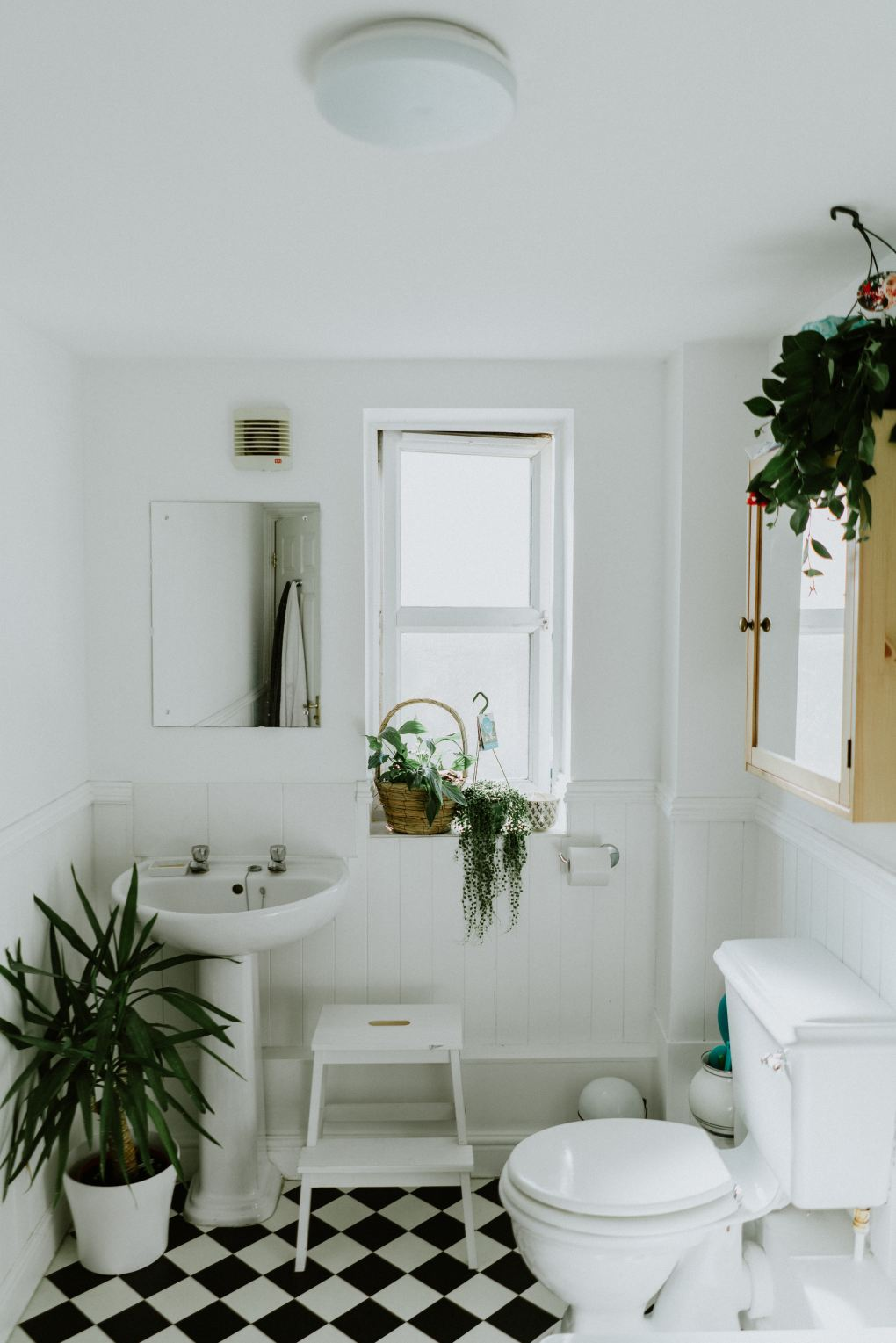 neglected areas of the home