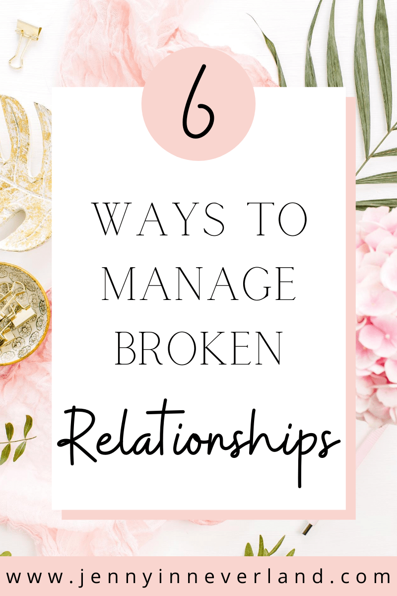 how to manage relationships