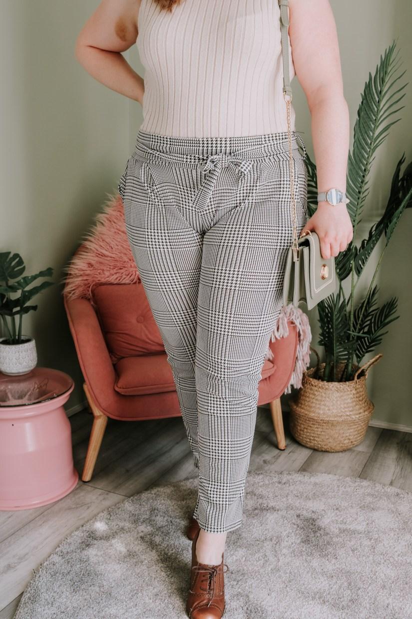 Femme Luxe Tartan Trousers