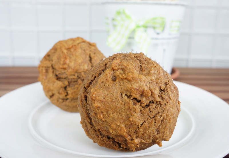 healthy ginger muffin