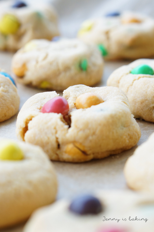 Peanutbutter M&M Cookies