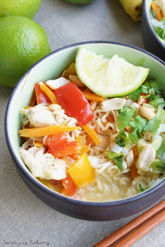 Thai Chicken Ramen