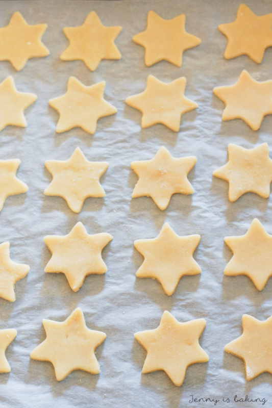 Chocolate Star Cookie