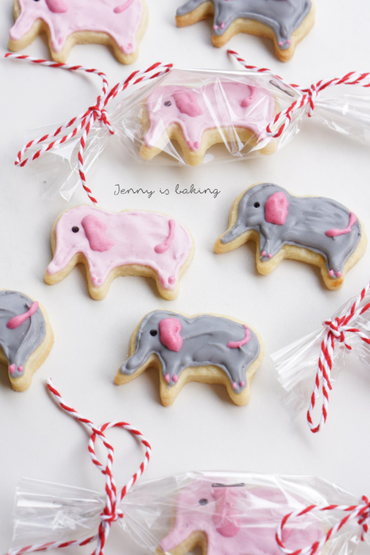 Cute Elephant Cookies For A Baby Shower Jenny Is Baking