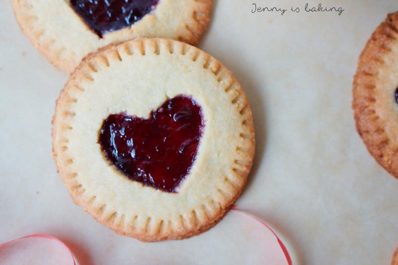 Valentine Cherry Hand Pie