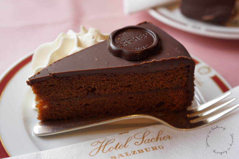 Sachertorte, Austria's most famous Chocolate Cake - Jenny is baking