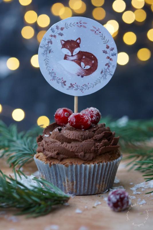 lebkuchen cupcakes mit cranberry f llung und ein gewinnspiel jenny is baking. Black Bedroom Furniture Sets. Home Design Ideas