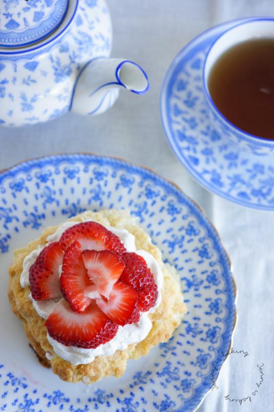 Erdbeer-Shortcakes