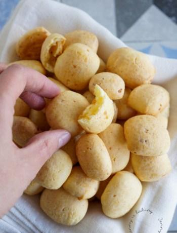Achiras, knuspriger Käsesnack aus Kolumbien (glutenfrei)