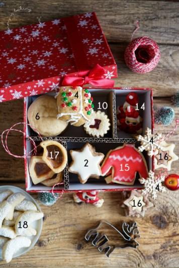 Rezepte für Weihnachtsplätzchen