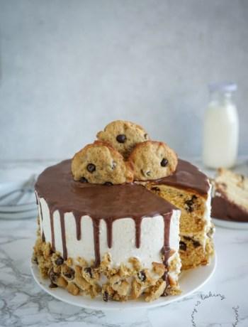 Chocolate-Chip-Torte
