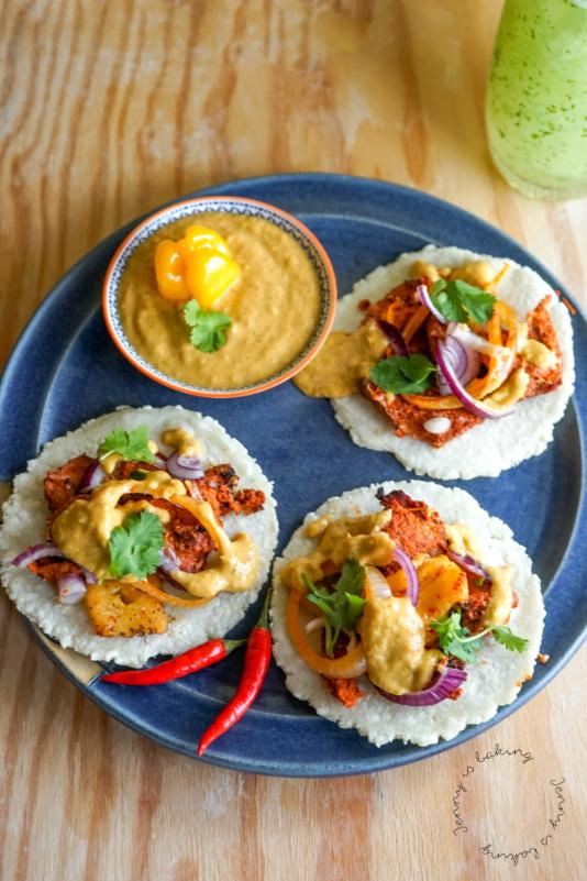 Rezept für mexikanische Tacos al Pastor