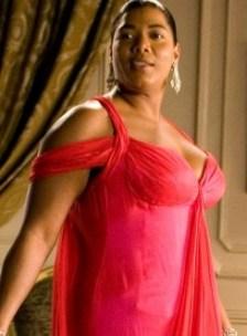queen latifah red dress 3